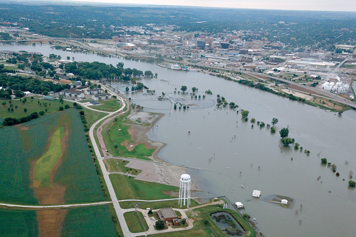 Devastation in South Sioux City